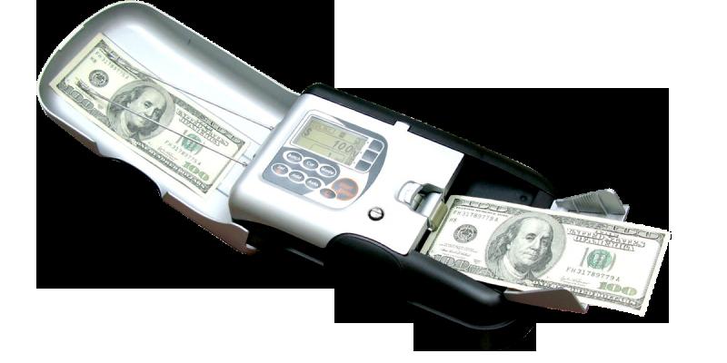 دستگاه تشخیص اصالت ارز