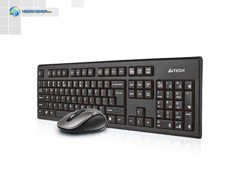 keyboard and mouse a4tech padless 7100n wireless