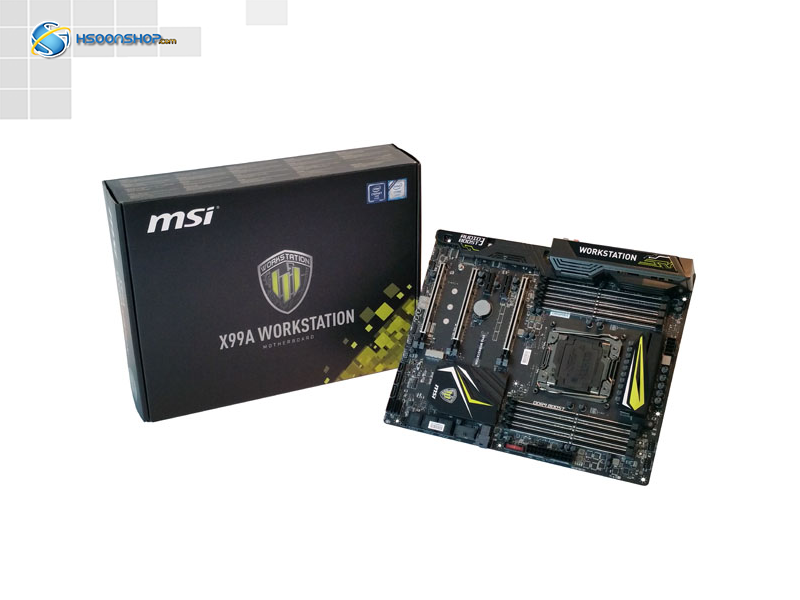 مادربرد msi x99a workstation