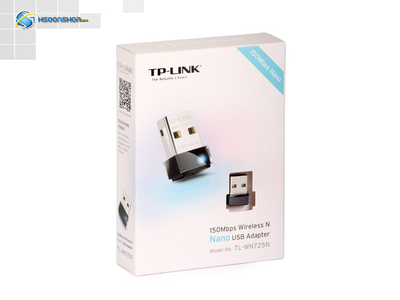 TP-LINK TL-WN725N Wireless N150 Nano USB Network Adapter
