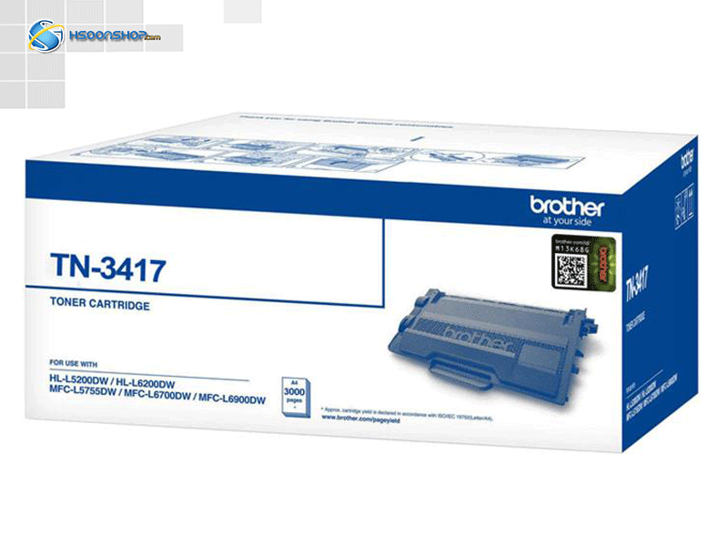 کارتریج برادرbrother tn 3417 black cartridge
