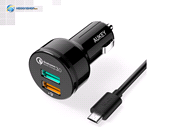 Aukey CC-T7 Quick Charge 3.0 Car Charger